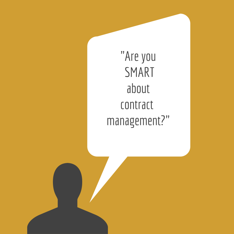 Are you smart about your contract management?