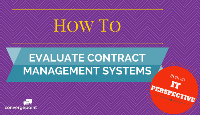 How to Evaluate Contract Management Systems