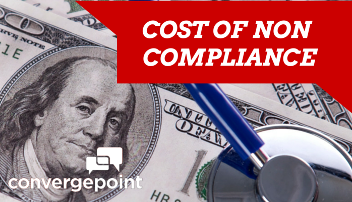 HIPAA - Cost of Non Compliance