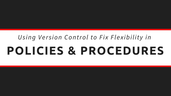 How to Fix Flexible Policies