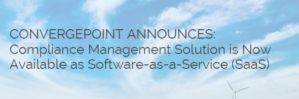 ConvergePoint Announces Compliance Management Solution is Now Available as Software-as-a-Service (Saas)