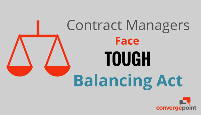 Contract Managers Face Tough Balancing Act