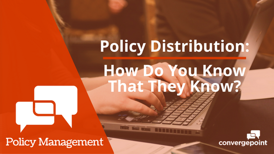 Policy Distribution How Do You Know That They Know?