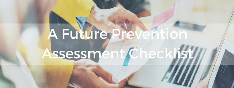 safety-management-A-Future-Prevention-Assessment-Checklist