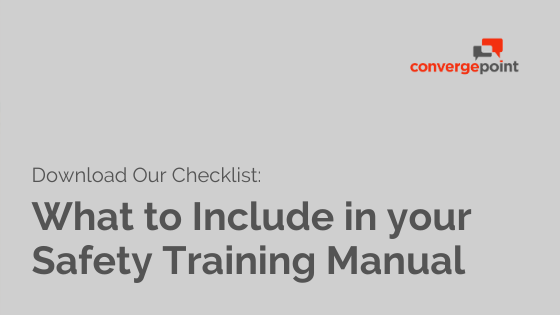 safety-training-manual-checklist